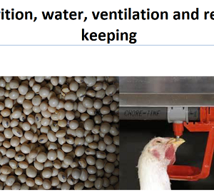 Nutrition, water, ventilation and record keeping ebook